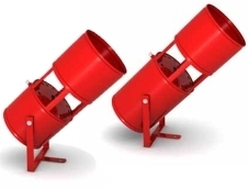AGS 7 aerosol fire extinguishers